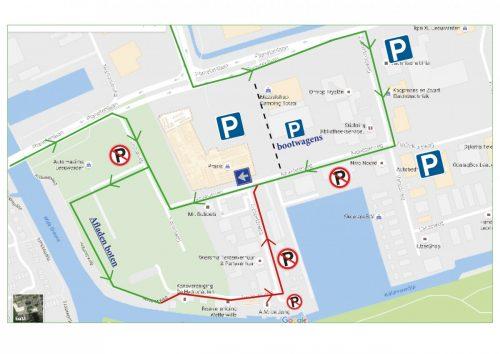 parkeerkaart-route